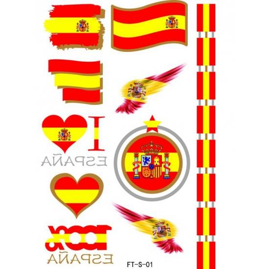 3D Tattoos Spanje