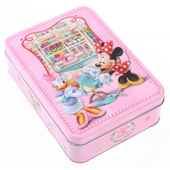 Bewaarblik Minnie Mouse roze