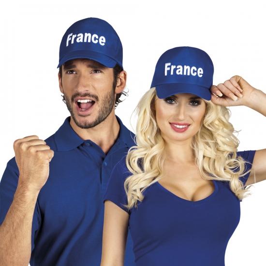 Blauwe pet Frankrijk