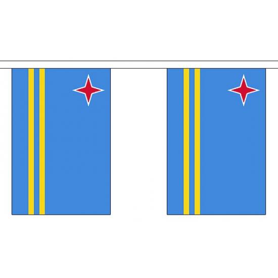 Buiten vlaggenlijn Aruba 3 m