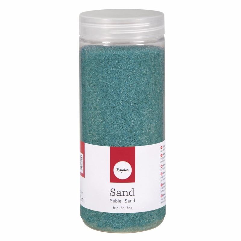 Fijn decoratie zand turquoise