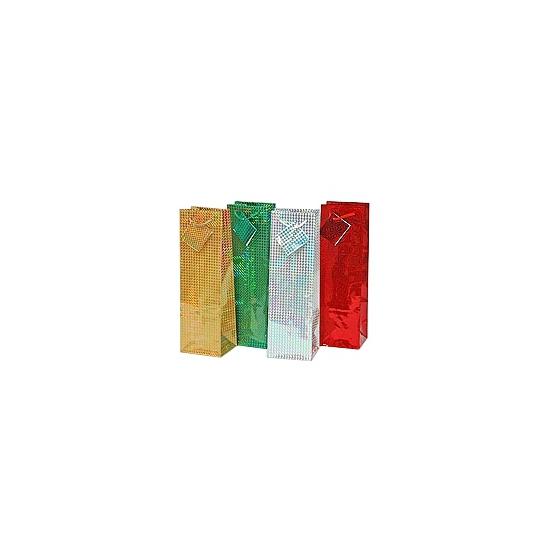 Flessen kado verpakking 33 x 10 cm