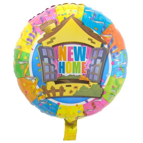 Folie ballon Nieuwe woning 45 cm