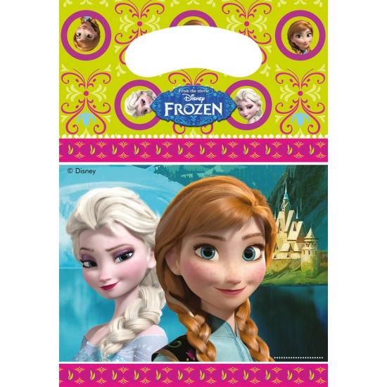 Frozen thema feestzakjes 6 stuks (bron: Landenversiering)