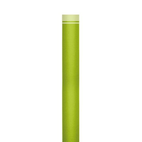 Groene papieren tafelloper