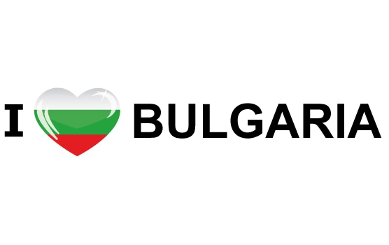 I Love Bulgaria sticker