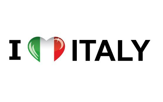 I Love Italy sticker