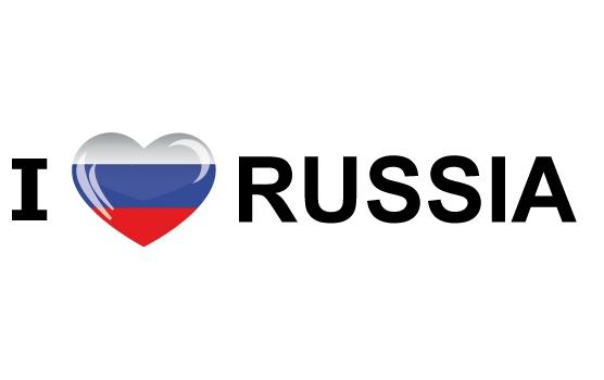 I Love Russia sticker