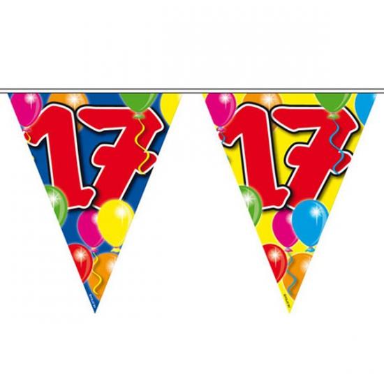 Leeftijd vlaggenlijn 17 jaar