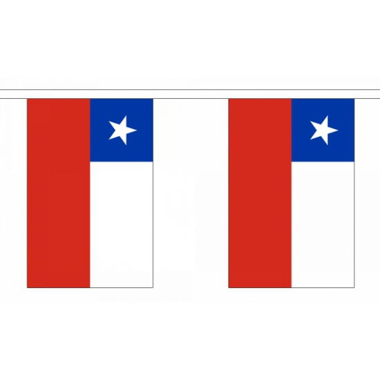 Luxe Chili vlaggenlijn 9 m