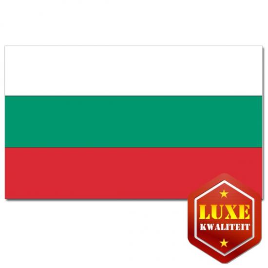 Luxe vlag Bulgarije