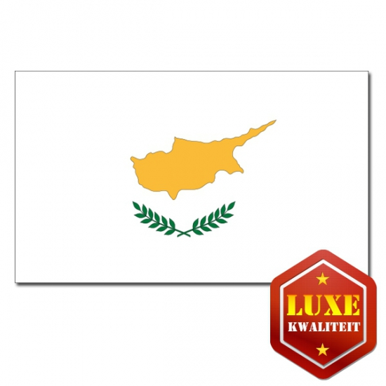 Luxe vlag Cyprus