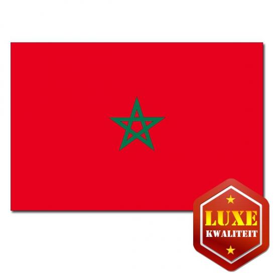 Luxe vlag Marokko