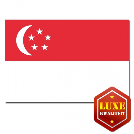 Luxe vlag Singapore
