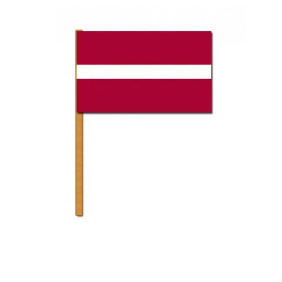 Luxe zwaaivlag Letland