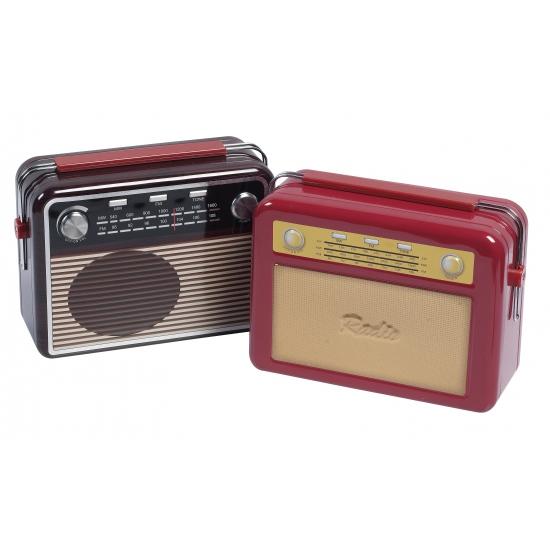 Opbergblik radio bruin