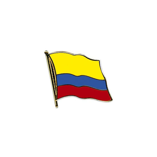 Pin Vlag Colombia