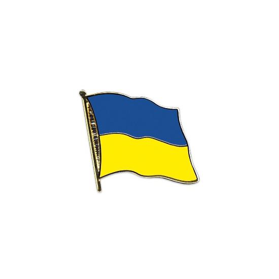 Pin vlag Oekraine