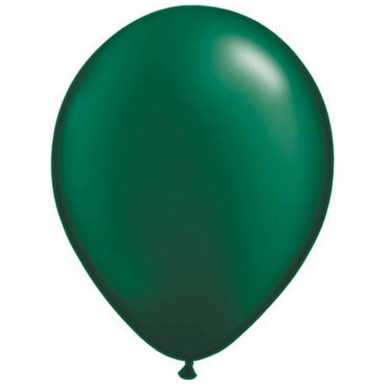 Qualatex ballonnen donkergroen 100 st