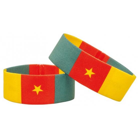 Supporter armband Kameroen