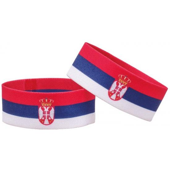 Supporter armband Servie (bron: Landenversiering)