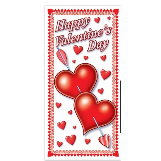 Valentijn deurposter 76 x 152 cm