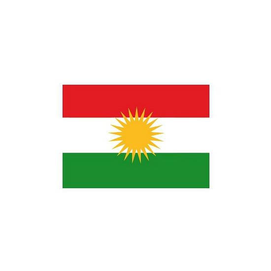 Vlag Koerdistan stickers