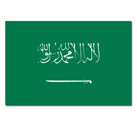 Vlag Saoedi Arabie 90 x 150 cm