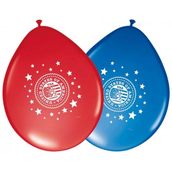 Amerika ballonnen 8 stuks