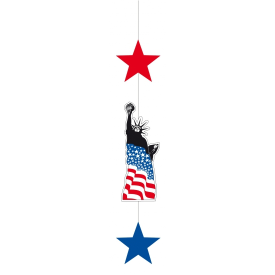 Amerika hangdecoratie 105 cm