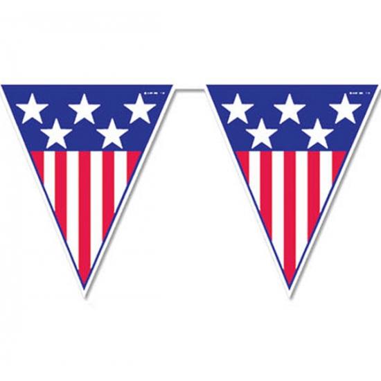 Amerika vlaggenlijn 4 meter
