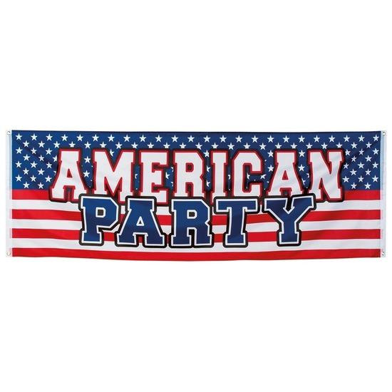 Amerikaanse party banier 2,2 meter