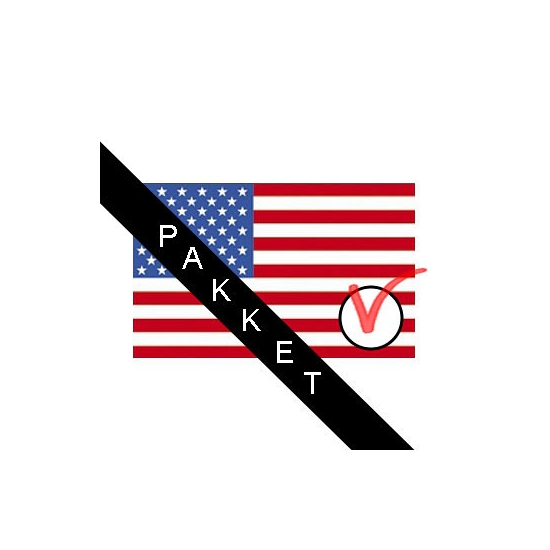 Amerikaanse verkiezingen versier pakket