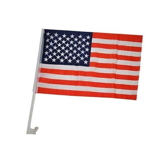 Autovlag Amerika 30 x 45 cm