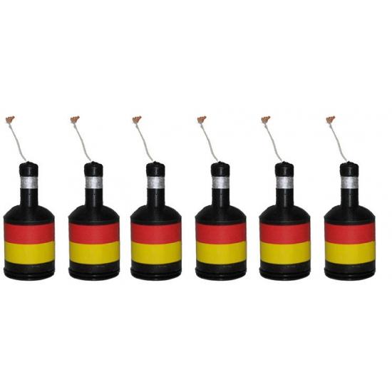 Belgie confetti poppers 6 stuks