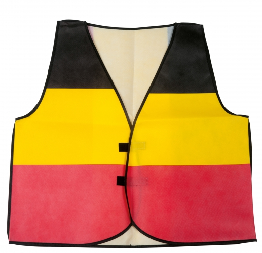 Belgie supporter vestje