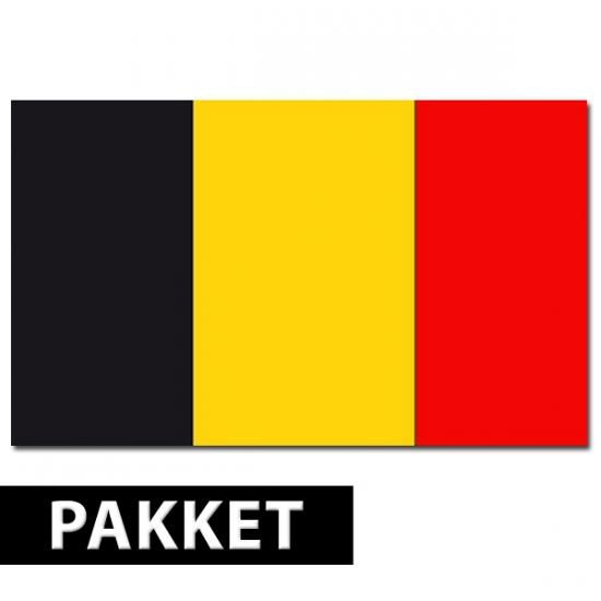 Belgie versiering pakket