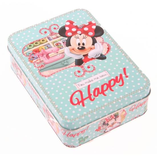 Bewaarblik Minnie Mouse mintgroen