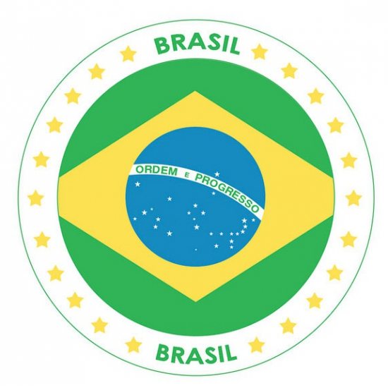 Bierviltjes Brazili? thema print