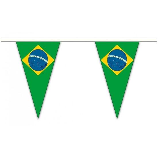 Brazilie landen punt vlaggetjes 20 meter
