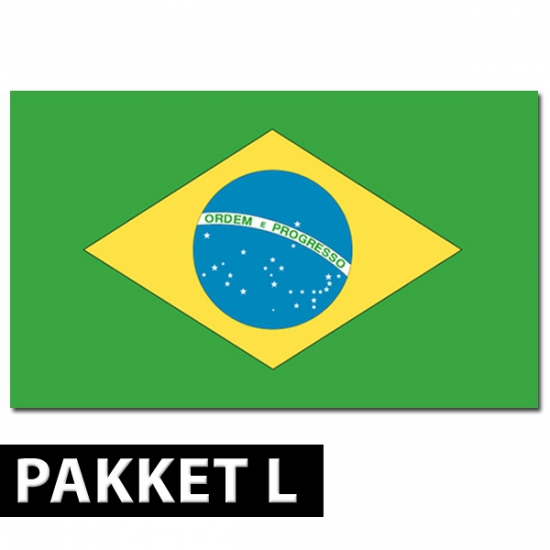 Brazilie versiering pakket large