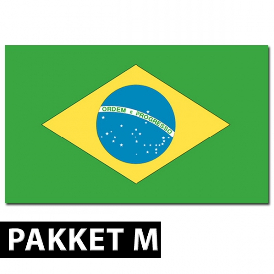 Brazilie versiering pakket medium