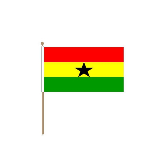 Ghana klein zwaaivlaggetje