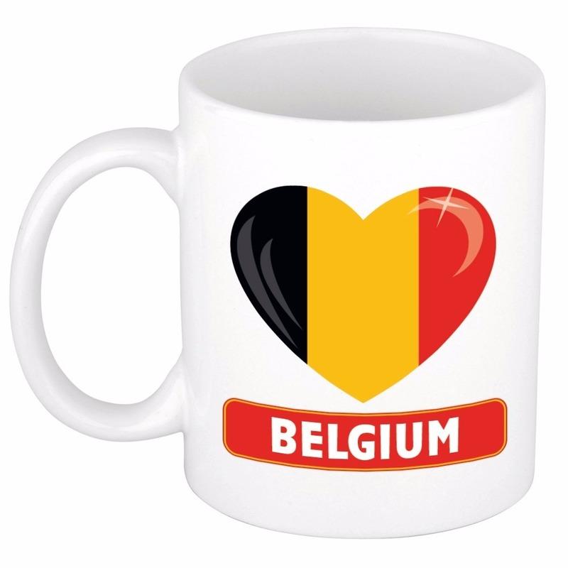 Hartje Belgie mok / beker 300 ml