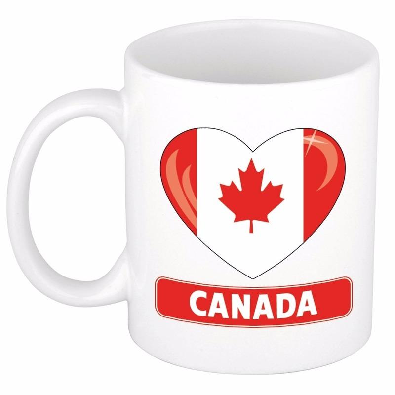 Hartje Canada mok / beker 300 ml
