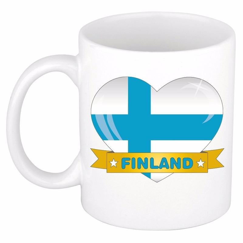 Hartje Finland mok / beker 300 ml