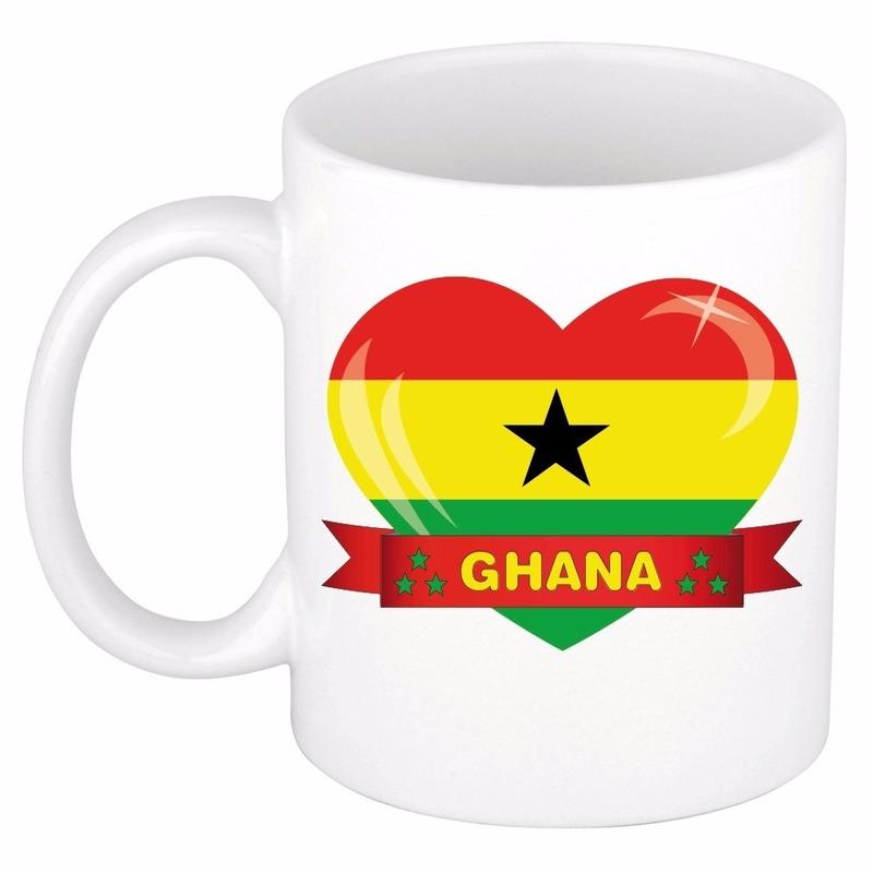 Hartje Ghana mok / beker 300 ml