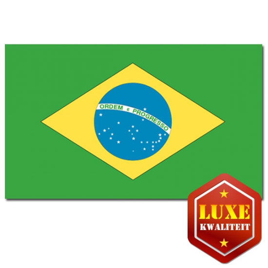 Luxe vlag Brazilie