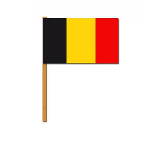 Luxe zwaaivlag Belgie