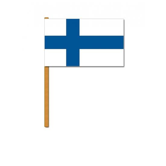 Luxe zwaaivlag Finland